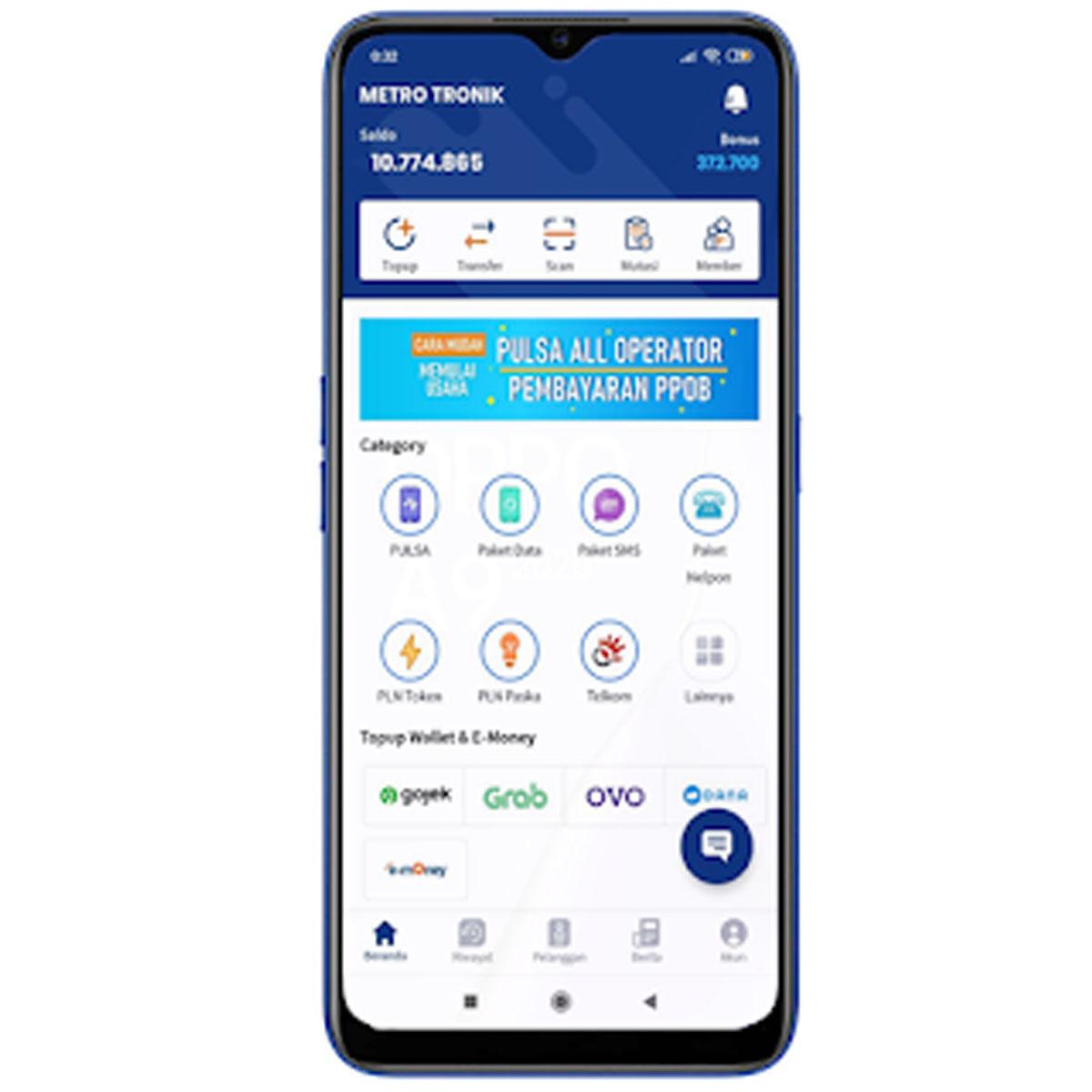 APK Android Metro Tronik