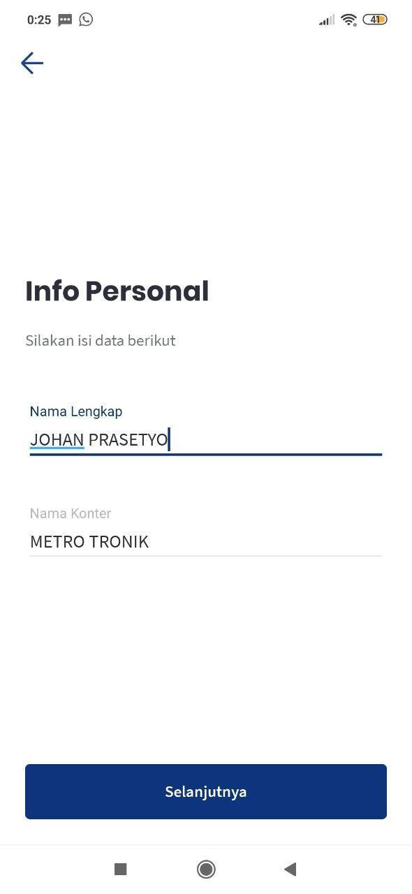 Cara Login APK Metro Tronik