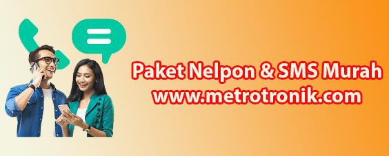 Daftar Harga Paket Telpon Dan SMS Metro Tronik
