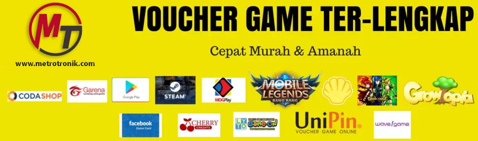 Daftar Stok Voucher Game Online Murah